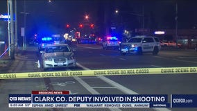 Police shooting in Clark County