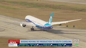 Boeing reveals plans to move Dreamliner production to South Carolina
