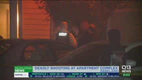 Deadly shooting at Parkland apartment complex