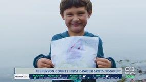 Jefferson County first grader wins contest after spotting Kraken