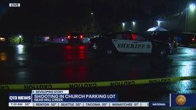 Shooting in church parking lot