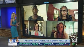 Talking to your kids about protests