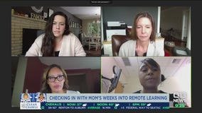 Talking with moms about challenges of remote learning