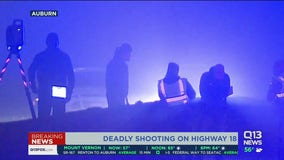 Deadly shooting on Highway 18
