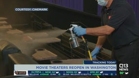 More movie theaters reopening Friday in Washington state