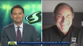 One win away from a WNBA title, Seattle Storm coach Gary Kloppenburg on 'Q It Up Sports'