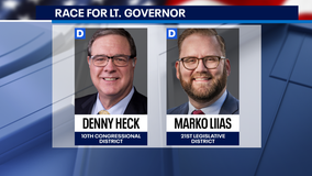 Two Democrats face off for Lt. Gov., Republican chases write-in opportunity