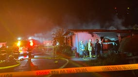 One dead in Lynnwood mobile home fire