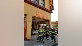 Four hurt after car crashes into restaurant in Seattle's International District