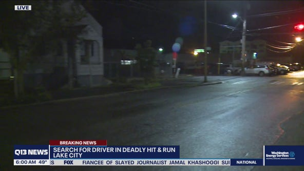 Suspect sought in deadly hit-and-run in Seattle's Lake City neighorhood