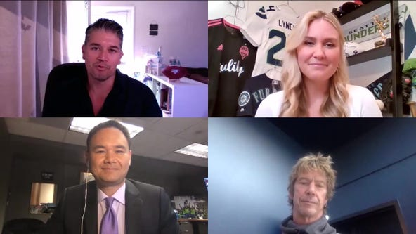 'Just A Bit Outside' Episode 1 with Duff McKagan, comedian Jeff Dye & NFL reporter Omar Ruiz