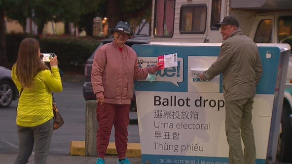 Tens of thousands of ballots collected from King County drop boxes