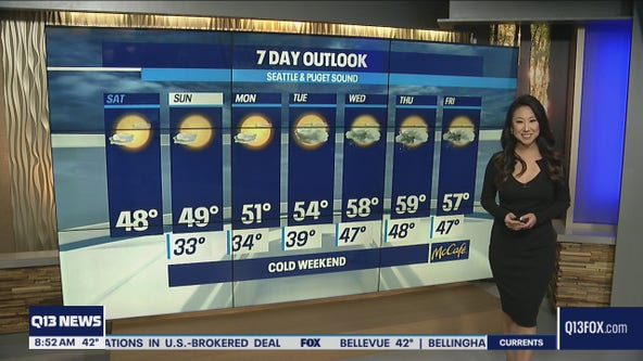 Cold and dry weekend for Western WA