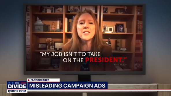 The Divide: Fact or Fake? Political ads and campaign claims