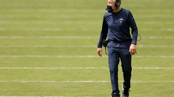 Seahawks injuries include unlikely name: coach Pete Carroll