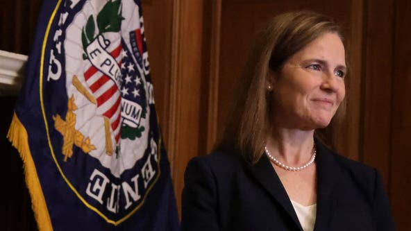 Amy Coney Barrett sworn in as Supreme Court justice after Senate vote