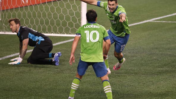 Bruin's late goal gives Sounders FC 1-1 draw with rival Timbers