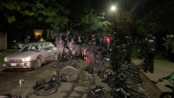 Five arrested in Capitol Hill demonstration Saturday