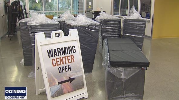 Tacoma opens warming center in preparation for cold weekend