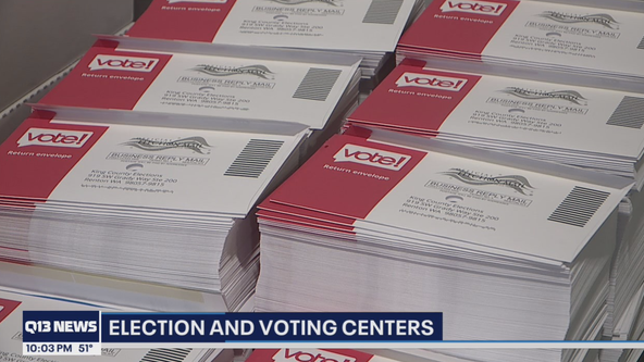 People can still register to vote at centers in King County opening this weekend