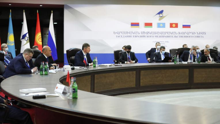 292a0f45-Meeting of Eurasian Economic Union Intergovernmental Council in Yerevan, Armenia