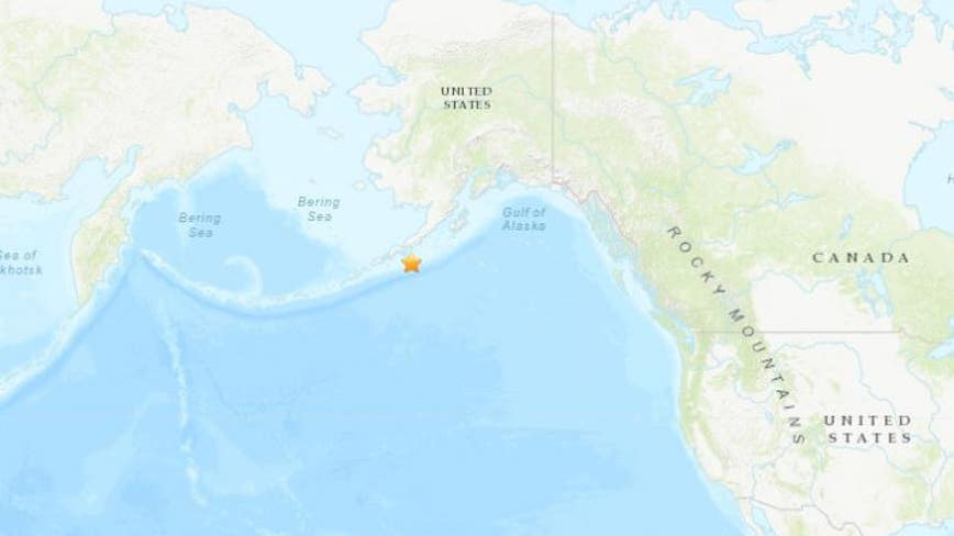 Tsunami warning issued for southern Alaska after 7.5-magnitude earthquake