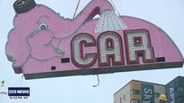 Seattle's iconic pink Elephant Car Wash sign removed Tuesday