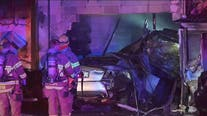 Sheriff: Street racing crash involving 2 drunk drivers causes house fire in Oregon
