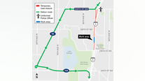Overnight closures this weekend on I-5 South in Snohomish County