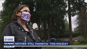 Lynnwood mother reminds us why we should still be thankful during pandemic
