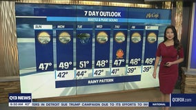 Clear skies in the morning, rain returns Sunday evening