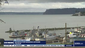 Search for missing officer continues