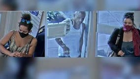Help ID suspects who used fraudulent credit cards to steal clothes from charity store that helps children