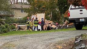 Two women injured in Auburn RV explosion