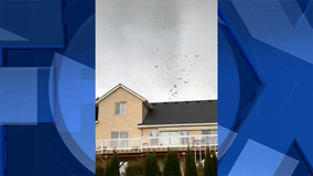 Small tornado touches down in St. Helens, buildings damaged