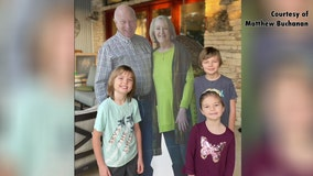 Couple sends cardboard cut-out of themselves to grandkids for holidays
