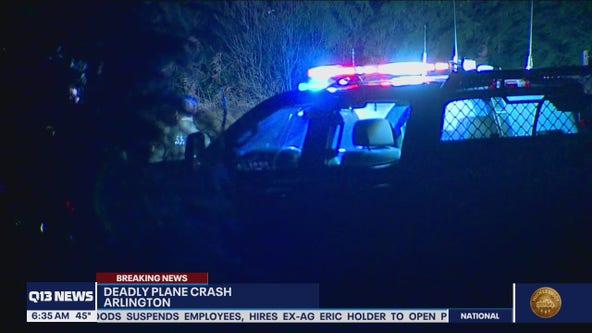 1 killed in small plane crash near Arlington