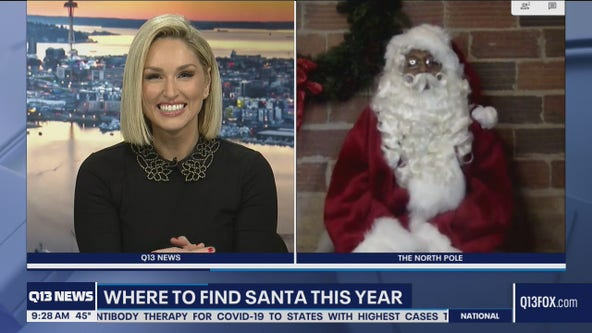 Where to find Santa this year