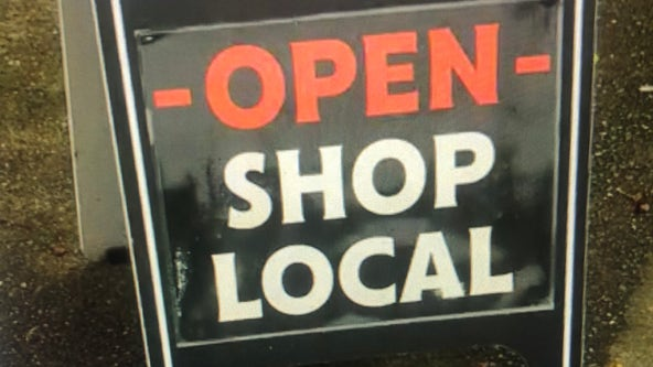 Gig Harbor small businesses say the support from the community is getting them through