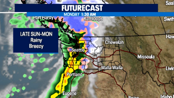 Dry weekend with sun, rain and wind on the way late Sunday