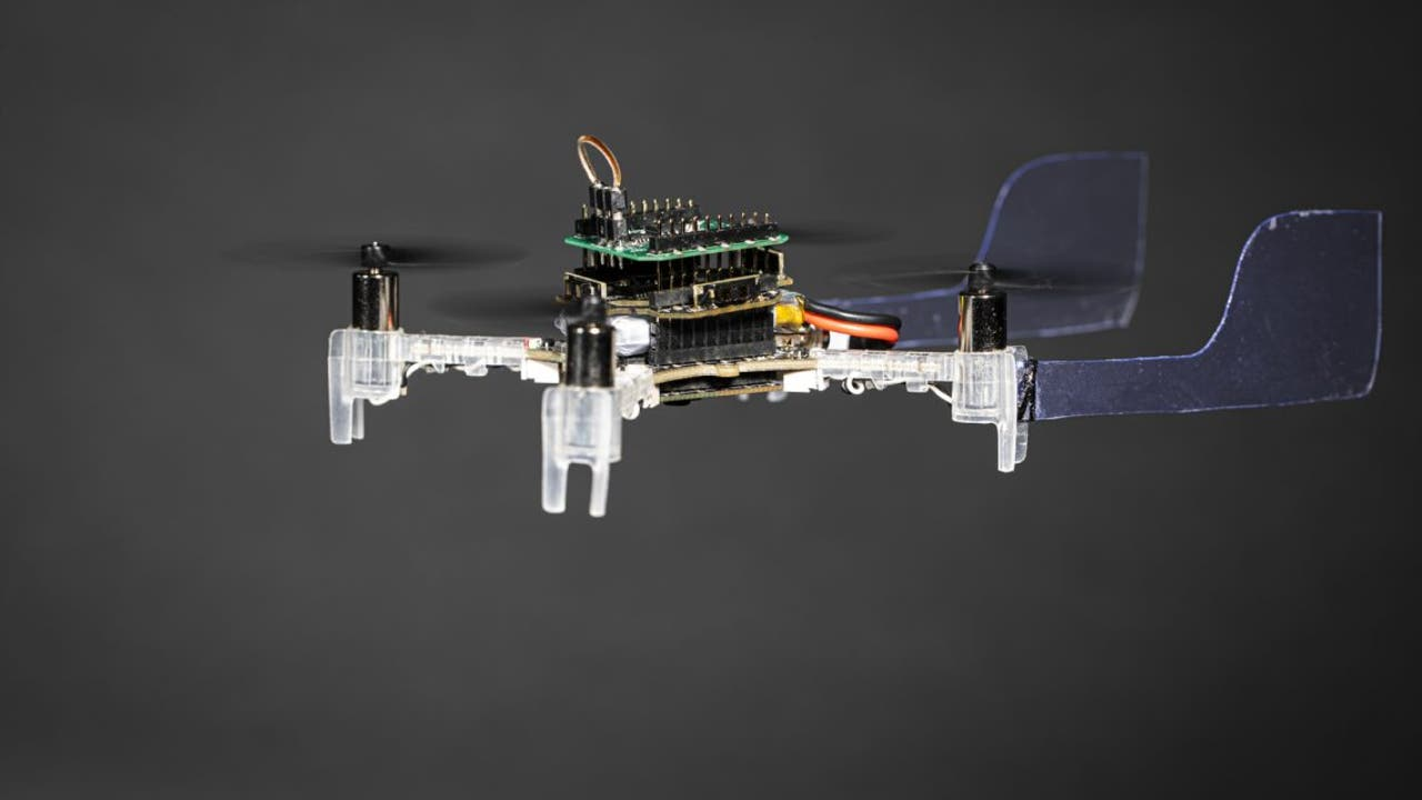 A team of University researchers develops an autonomous, obstacle-avoiding drone that uses a live moth antenna to navigate toward smells. SEATTLE -  R