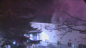 Fire at Skyway apartment complex displaces dozens of residents