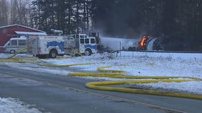 Cause of oil train derailment, fire remains under investigation
