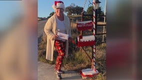 Mailbox in Florence, Texas gives kids direct line to North Pole