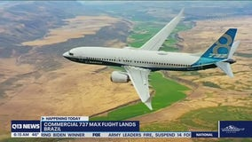 Boeing 737 MAX lands safely in Brazil