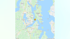 Small earthquake reported near Bremerton