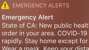 California uses text alert to ask millions of residents to stay home