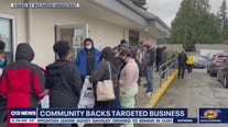 Community rallies behind Shoreline business