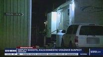 Deputies kill domestic violence suspect