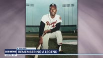 Local reaction to legendary MLB player Hank Aaron